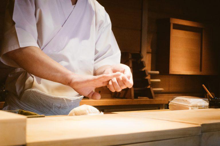 高級寿司店