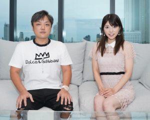 与沢翼氏(左)と上原亜衣氏
